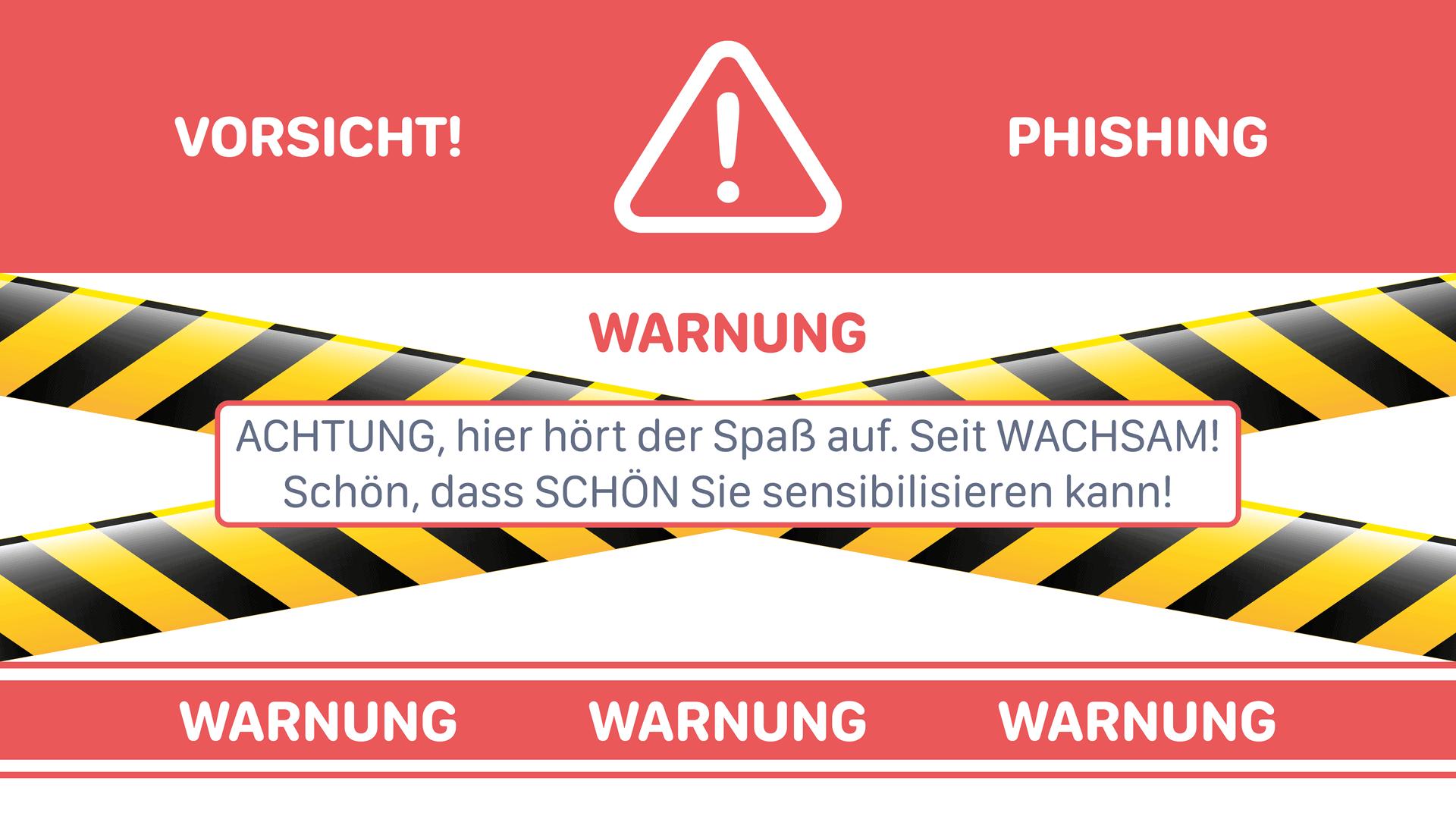 Warnung vor digitalen Räubern!