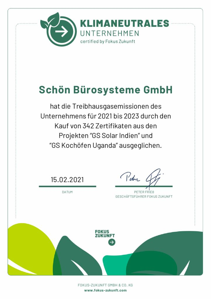 thumbnail of Urkunde_Schön Bürosysteme