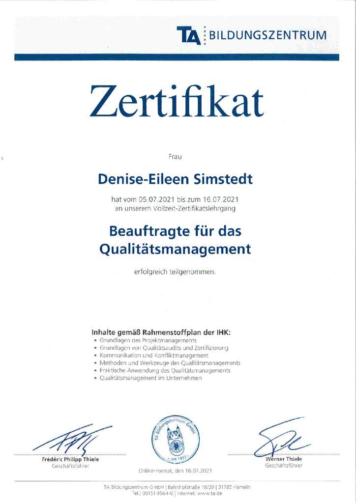thumbnail of QM Zertifikat DSi